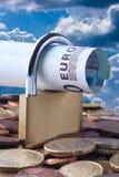 Finanziamento, EUR Immagine Stock Libera da Diritti