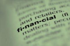 Finanziario Immagini Stock Libere da Diritti