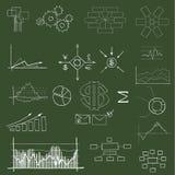 Finanziario e commercio Immagini Stock