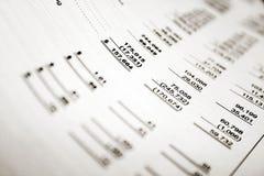 Finanziell Lizenzfreies Stockfoto