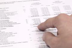 Finanziell lizenzfreie stockbilder