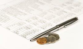 Finanziell Lizenzfreies Stockbild