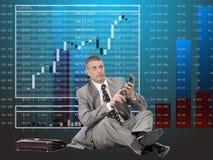 Finanzielle Investitionen Stockfotografie