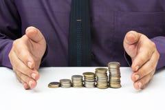 Finanzieren Sie Stabilität Stockfoto