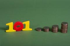 Finanzierung 101 Stockfotografie