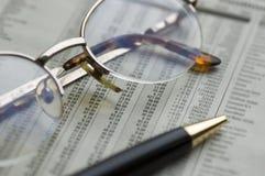 Finanzierung Stockbild