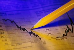Finanzkonzept Lizenzfreie Stockfotografie