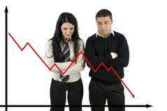 Finanzkrise Lizenzfreies Stockbild