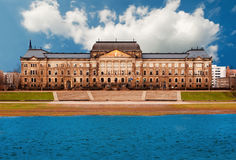 Finanzministerium, Dresden Stockfoto