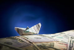 Finanzozean Lizenzfreie Stockbilder