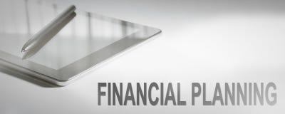 FINANZplanung Geschäfts-Konzept-Digitaltechnik graphik Stockbilder
