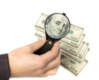 Finanzproblem. Geld des globalen Geschäfts lizenzfreies stockfoto