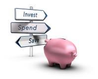 Finanzrat, Geld-Konzept Stockfotos
