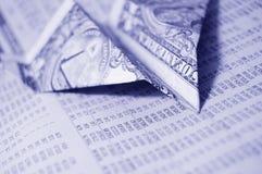 Finanzreport stockfoto