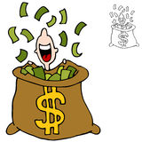 Finanzspekulationsgewinne Lizenzfreie Stockbilder