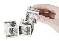 Finanzspiele Stockfotografie