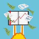 Finanzstart Lizenzfreies Stockfoto