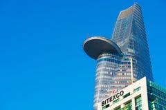 Finanzturm Bitexco in Saigon, Vietnam Stockbild