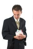 Finanzunsicherheit Stockfotos