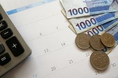 Finanzunternehmensplanung Stockbilder