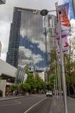 Finanzviertel Southbank in Melbourne stockfotografie