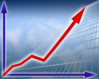 Finanzwachstum Stockfotos