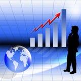 Finanzwachstum lizenzfreie abbildung