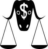 Finanzzeichen Stockfotografie