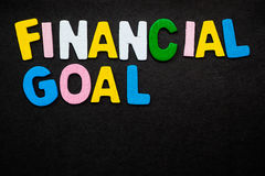 Finanzziel Lizenzfreie Stockfotos