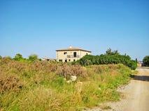 Finca/假期出租家农村风景的 免版税库存照片