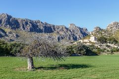 Finca Boquer and Cavall Bernat Ridge Royalty Free Stock Photos