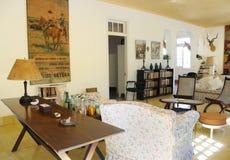 Finca Vigia, hogar de Hemingway en Cuba. Fotos de archivo