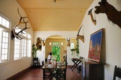 Finca Vigia, hogar de Hemingway en Cuba. Fotos de archivo libres de regalías