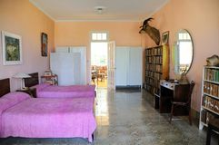 Finca Vigia, home of Hemingway in Cuba. Stock Images