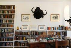 Finca Vigia, maison de Hemingway au Cuba. Images stock