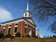 Fincastle verenigde Methodist Kerk Royalty-vrije Stock Foto