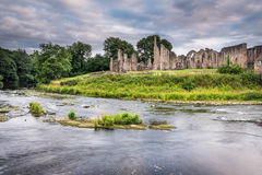 Finchale Priory and River Wear Royalty Free Stock Photos