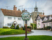 Finchingfield Winter 2015 Stock Photos