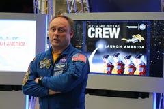 宇航员迈克尔Fincke 库存图片