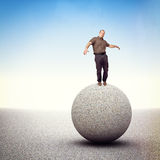 Find balance Royalty Free Stock Photo