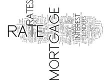 Find The Best Mortgage Rate For You Word Cloud Concept. Find The Best Mortgage Rate For You Text Background Word Cloud Concept Stock Photography