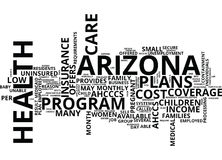 Find The Best Rates On Health Insurance In Arizona Word Cloud Concept. Find The Best Rates On Health Insurance In Arizona Text Background Word Cloud Concept Royalty Free Stock Photos