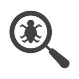 Find Bugs Royalty Free Stock Photo