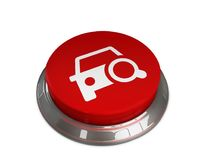 Find Car icon. 3d illustration of Find Car Icon Royalty Free Stock Images