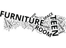 Find Cool Teen Furniture Your Teen Will Use And Like Text Background  Word Cloud Concept. FIND COOL TEEN FURNITURE YOUR TEEN WILL USE AND LIKE Text Background Royalty Free Stock Images