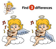 Find differences, Angel Stock Images