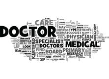 Find A Doctor Text Background  Word Cloud Concept Stock Photo