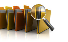 Find documents Stock Image
