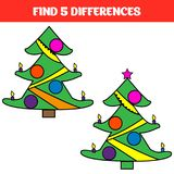 Find five differences. Educational game for children. Funny cartoon. Vector illustration vector illustration