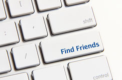 Find Friends Button Stock Images